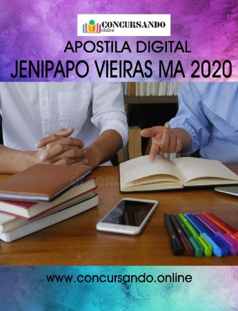 APOSTILA PREFEITURA DE JENIPAPO VIEIRAS MA 2020 PROFESSOR ENSINO FUNDAMENTAL - LETRAS (S313)