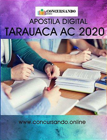 APOSTILA PREFEITURA DE TARAUACA AC 2020 PROFESSOR DE EDUCAÇÃO FÍSICA