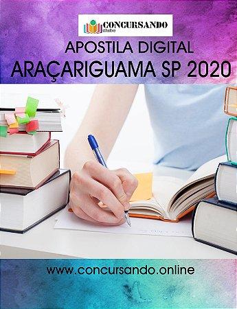 APOSTILA PREFEITURA DE ARAÇARIGUAMA SP 2020 PEB II - PROFESSOR DE HISTÓRIA