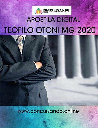 APOSTILA CÂMARA DE TEÓFILO OTONI MG 2020 ASSISTENTE LEGISLATIVO