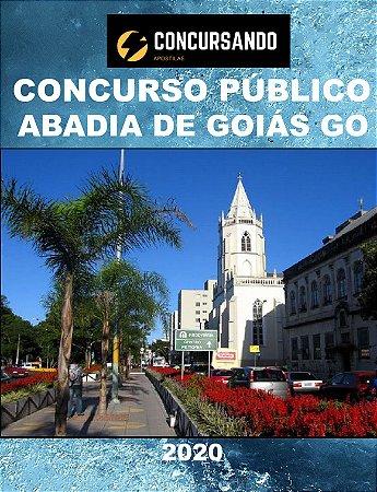 APOSTILA PREFEITURA ABADIA DE GOIÁS GO 2020 AUDITOR FISCAL