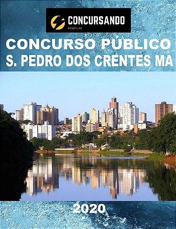 APOSTILA PREFEITURA SÃO PEDRO DOS CRENTES MA 2020 ENFERMEIRO