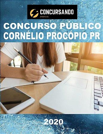 APOSTILA PREFEITURA DE CORNÉLIO PROCÓPIO PR 2020 PROFESSOR DE EDUCAÇÃO FÍSICA