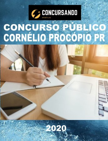 APOSTILA PREFEITURA DE CORNÉLIO PROCÓPIO PR 2020 PSICÓLOGO EDUCACIONAL