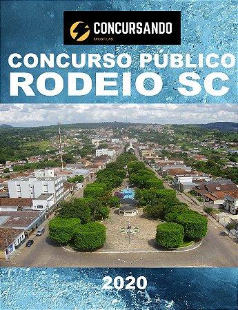 APOSTILA PREFEITURA DE RODEIO SC 2020 PROFESSOR DE LÍNGUA PORTUGUESA