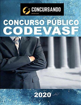APOSTILA CODEVASF 2020 ANALISTA EM DESENVOLVIMENTO REGIONAL - ENGENHARIA CIVIL