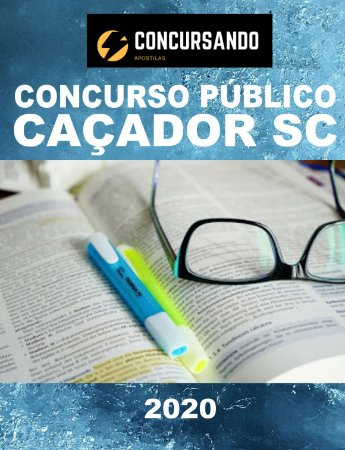 APOSTILA PREFEITURA DE CAÇADOR SC 2020 FARMACÊUTICO