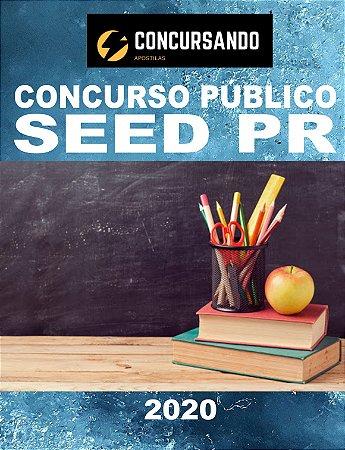 APOSTILA SEED PR 2020 CONTROLE E PROCESSO INDUSTRIAIS