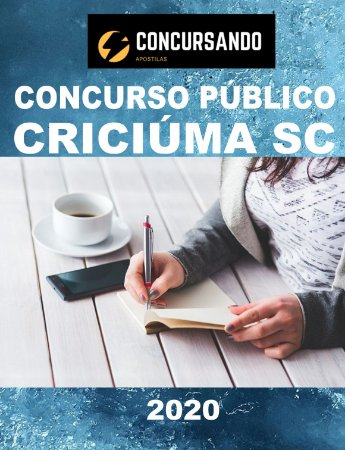 APOSTILA PREFEITURA DE CRICIÚMA SC 2020 PROFESSOR DE CIÊNCIAS