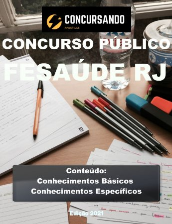 APOSTILA FESAUDE RJ 2021 AGENTE COMUNITÁRIO DE SAÚDE
