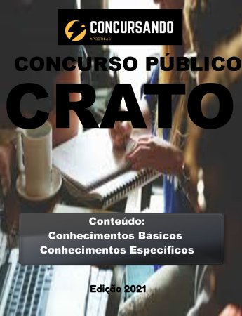 APOSTILA PREFEITURA DE CRATO CE 2021 CONTADOR