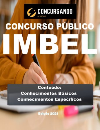 APOSTILA IMBEL 2021 ENGENHEIRO DE CONTROLE DE QUALIDADE