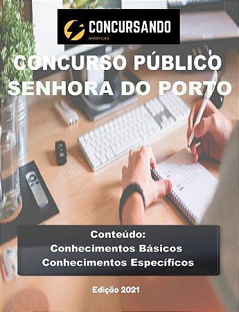 APOSTILA PREFEITURA DE SENHORA DO PORTO MG 2021 ASSISTENTE SOCIAL
