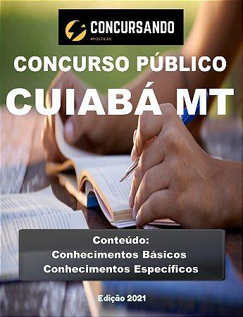 Apostila CÂMARA DE CUIABÁ MT 2021 Controlador Interno