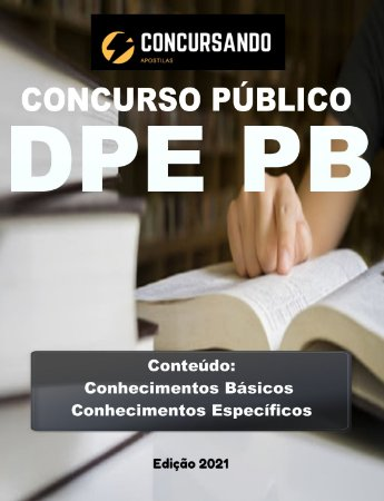 Apostila DPE PB 2021 Engenheiro Civil