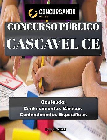 APOSTILA PREFEITURA DE CASCAVEL CE 2021 PROFESSOR PEB II - MATEMÁTICA