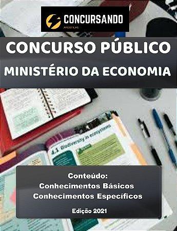 Apostila MINISTÉRIO DA ECONOMIA 2021 Administração