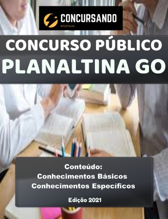 Apostila CÂMARA DE PLANALTINA GO 2021 Assessor de Comunicação