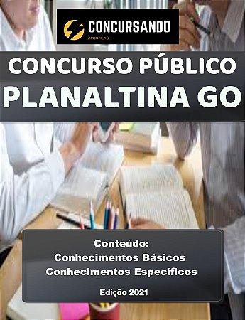 Apostila CÂMARA DE PLANALTINA GO 2021 Controle Interno