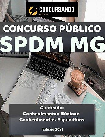 APOSTILA SPDM MG 2021 ANALISTA DE PATRIMÔNIO