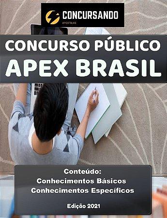 APOSTILA APEX BRASIL 2021 ANALISTA - PROCESSOS CONTÁBEIS