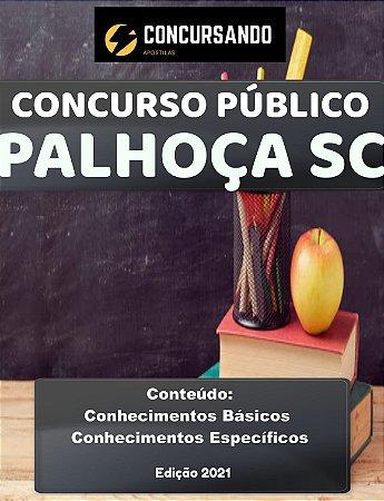 Apostila PREFEITURA DE PALHOÇA SC 2021 Nutricionista
