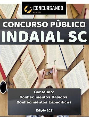 Apostila PREFEITURA DE INDAIAL SC 2021 Psicólogo