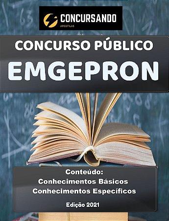 APOSTILA EMGEPRON 2021 ENGENHEIRO MECÂNICO - USINAGEM