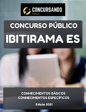 APOSTILA PREFEITURA DE IBITIRAMA ES 2021 CONTADOR