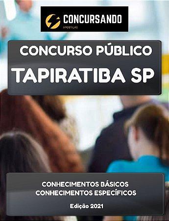 APOSTILA PREFEITURA DE TAPIRATIBA SP 2021 PROFESSOR DE ARTES