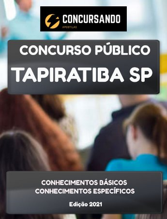 APOSTILA PREFEITURA DE TAPIRATIBA SP 2021 PROFESSOR DE GEOGRAFIA