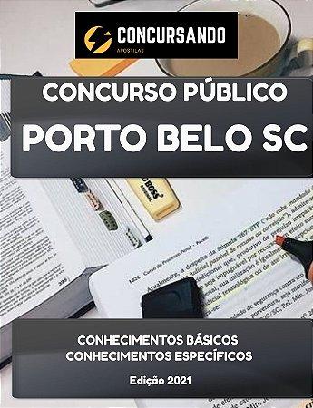APOSTILA PREFEITURA DE PORTO BELO SC 2021 ENGENHEIRO SANITARISTA