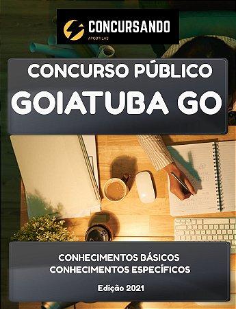 APOSTILA PREFEITURA DE GOIATUBA GO 2021 BIOMÉDICO