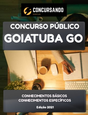 APOSTILA PREFEITURA DE GOIATUBA GO 2021 TÉCNICO EM INFORMÁTICA