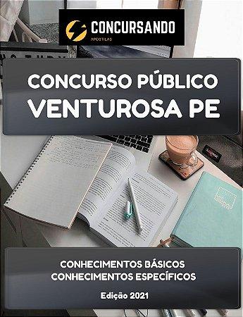 APOSTILA PREFEITURA DE VENTUROSA PE 2021 AGENTE DE COMBATE ÀS ENDEMIAS
