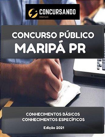 APOSTILA PREFEITURA DE MARIPÁ PR 2021 PSICÓLOGO (AMBOS)