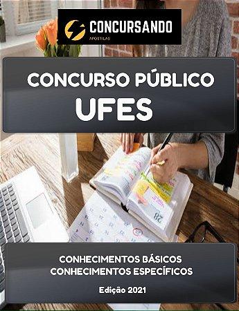 APOSTILA UFES 2021 ENGENHEIRO CIVIL
