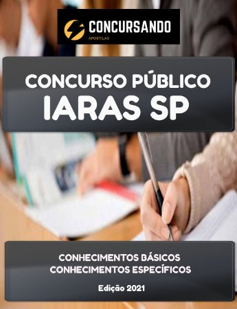 APOSTILA PREFEITURA DE IARAS SP 2021 PEB II - HISTÓRIA