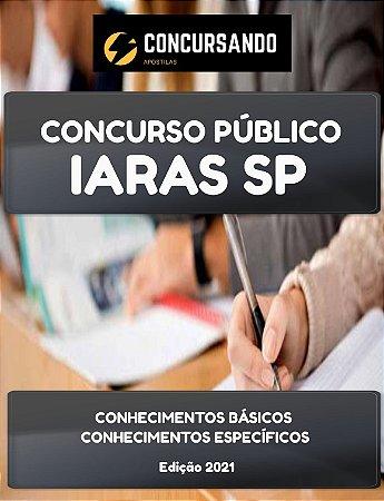 APOSTILA PREFEITURA DE IARAS SP 2021 TÉCNICO EM ENFERMAGEM PSF