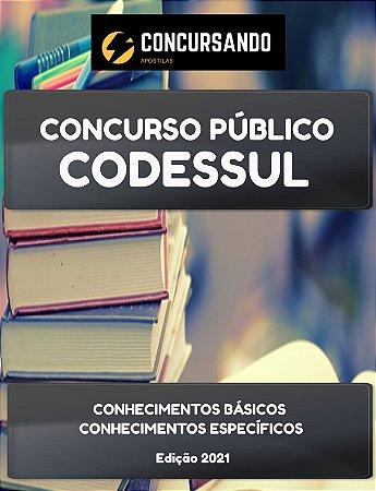 APOSTILA CODESSUL CE 2021 TÉCNICO EDUCAÇÃO AMBIENTAL