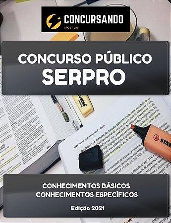 APOSTILA SERPRO 2021 ANALISTA - CIÊNCIA DE DADOS