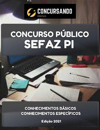 APOSTILA SEFAZ PI 2021 ANALISTA EM DESENVOLVIMENTO DE SISTEMAS