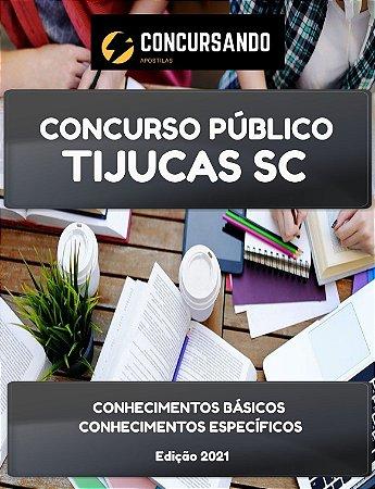 APOSTILA PREFEITURA DE TIJUCAS SC 2021 ASSISTENTE SOCIAL DE SANEAMENTO
