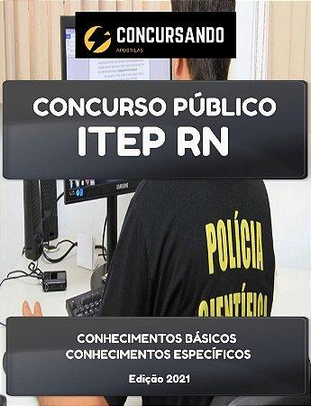 APOSTILA ITEP RN 2021 ASSISTENTE TÉCNICO FORENSE ENFERMAGEM DO TRABALHO