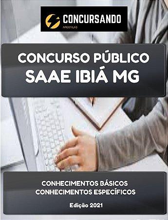 APOSTILA SAAE IBIÁ MG 2021 SECRETÁRIA EXECUTIVA