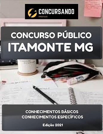 APOSTILA PREFEITURA DE ITAMONTE MG 2021 PSICÓLOGO - CRAS