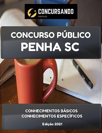 APOSTILA PREFEITURA DE PENHA SC 2021 AUXILIAR DE SAÚDE BUCAL