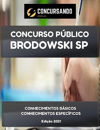 APOSTILA PREFEITURA DE BRODOWSKI SP 2021 PROFESSOR EDUCAÇÃO INFANTIL