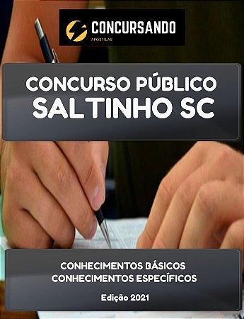 APOSTILA PREFEITURA DE SALTINHO SC 2021 FISIOTERAPEUTA