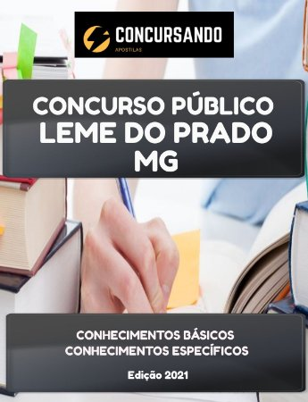 APOSTILA PREFEITURA DE LEME DO PRADO MG 2021 FISIOTERAPEUTA